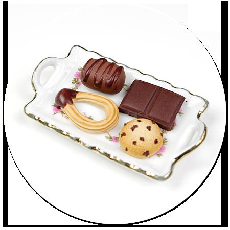 magnes talerzyk ze słodyczami nr 5