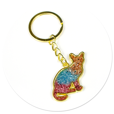 keyring with kitty no. 3