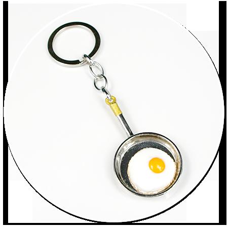 keyring with pan