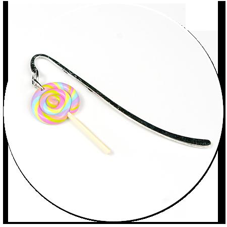 bookmark with lollipop no. 4