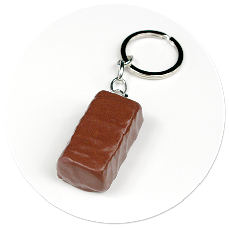 breloczek cukierek czekoladowy
