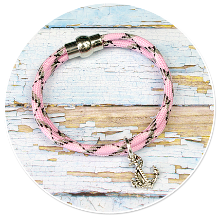 bracelet rope with anchor no. 5