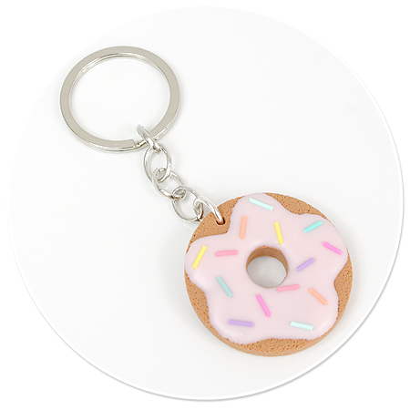 breloczek ciastko donut nr 3
