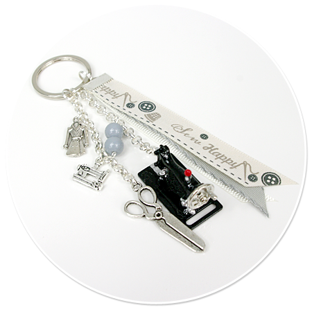 keyring for dressmaker (machine) no. 3