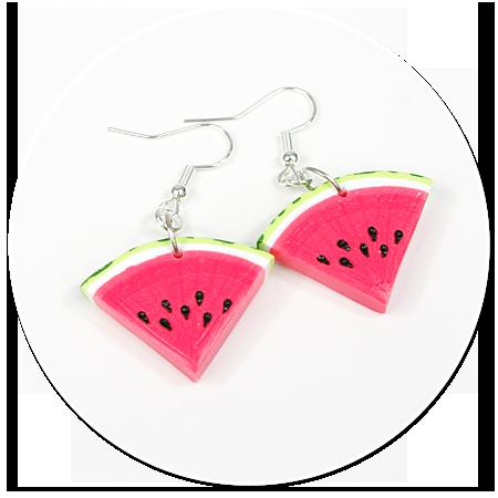 earrings watermelons no. 4
