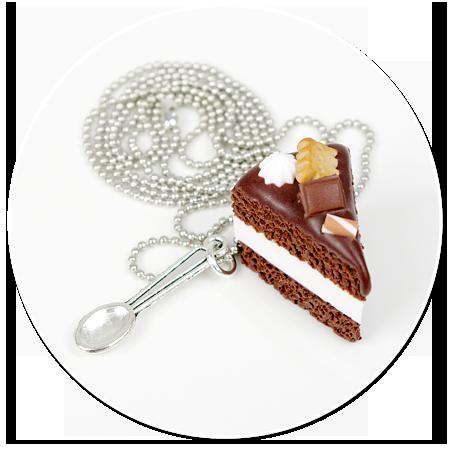 naszyjnik tort czekoladowy