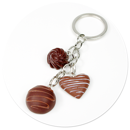 keyring with pralines no. 13
