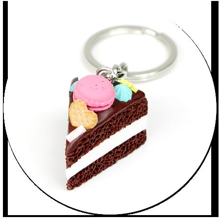 breloczek tort czekoladowy nr 2