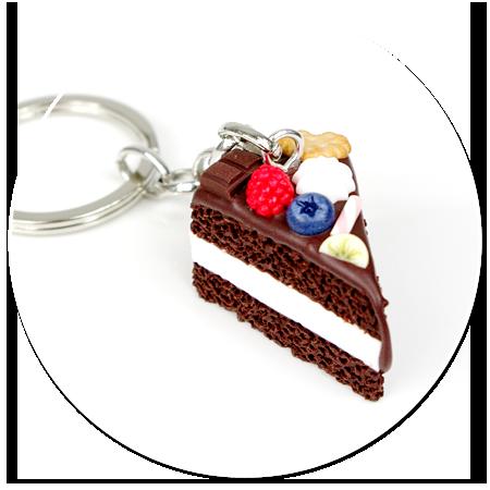 breloczek tort czekoladowy nr 5