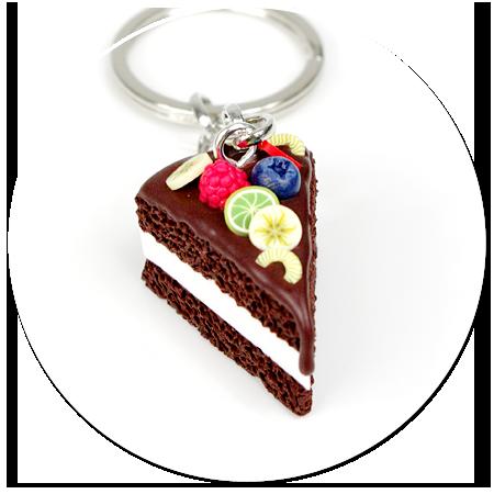 breloczek tort czekoladowy nr 7