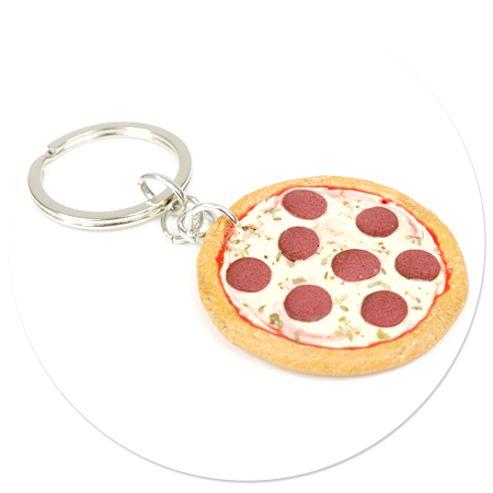 breloczek pizza nr 5