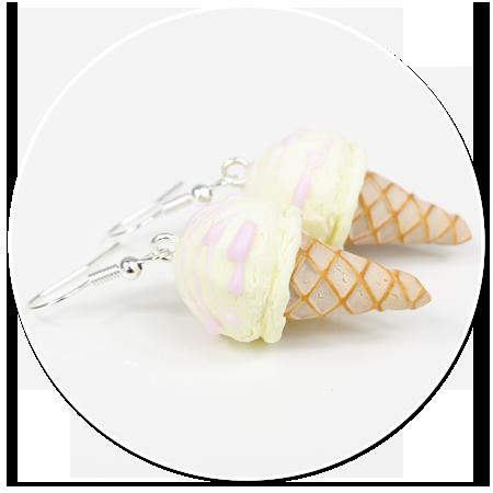 earrings ice cream no. 8