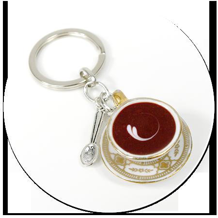 breloczek filiżanka z kawą nr 2
