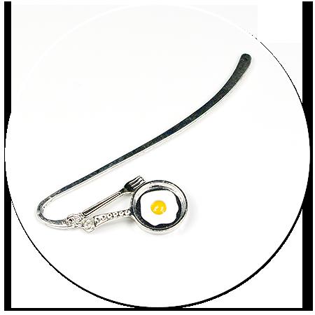 bookmark pan (fried egg)