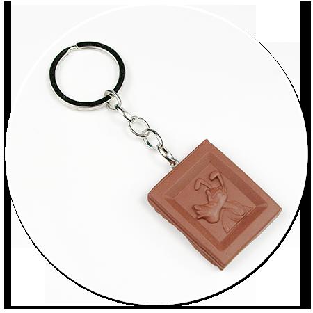 keyring chocolate - Pluto no. 2
