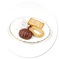 magnet plate of sweets