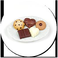 magnes talerzyk ze słodyczami nr 4