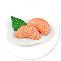 magnet plate of mandarins