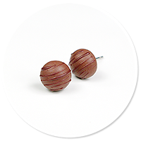 plug-in earrings pralines no. 5