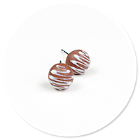 plug-in earrings pralines no. 11