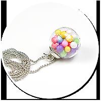 naszyjnik kula z cukierkami nr 8