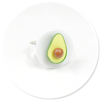 ring with avocado