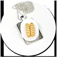 naszyjnik z bagietkami