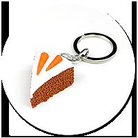 brelok ciasto marchewkowe nr 2