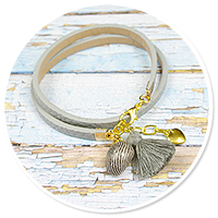 summer's bracelet with shell no. 3