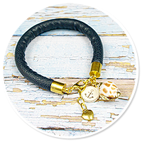 summer's bracelet with shell no. 2
