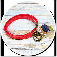 sailor's bracelet with cupcake no. 3