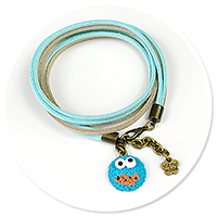 bracelet with cookie monster no. 4