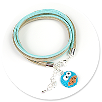 bracelet with cookie monster