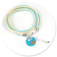 bracelet with cookie monster no. 3
