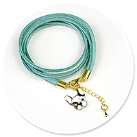 bracelet with bulldog