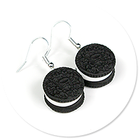 earrings mini oreo