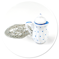 necklace with jug