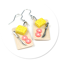 earrings cheese board no. 2