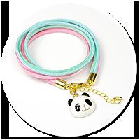 bracelet with panda