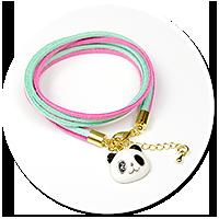 bracelet with panda no. 2