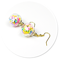 earrings ball with candies no. 5