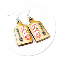 earrings caprese no. 2