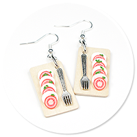 earrings caprese