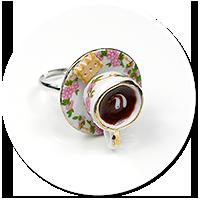 pierścionek filiżanka z kawą nr 3