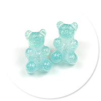plug-in earrings jelly bear no. 2