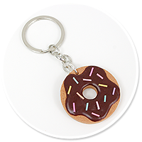 breloczek ciastko donut