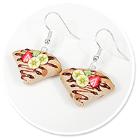 earrings pancakes no. 3