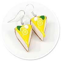 earrings cheese cake (fruits) no. 10