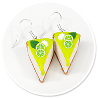earrings cheese cake (fruits) no. 9