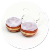 earrings donuts no. 3